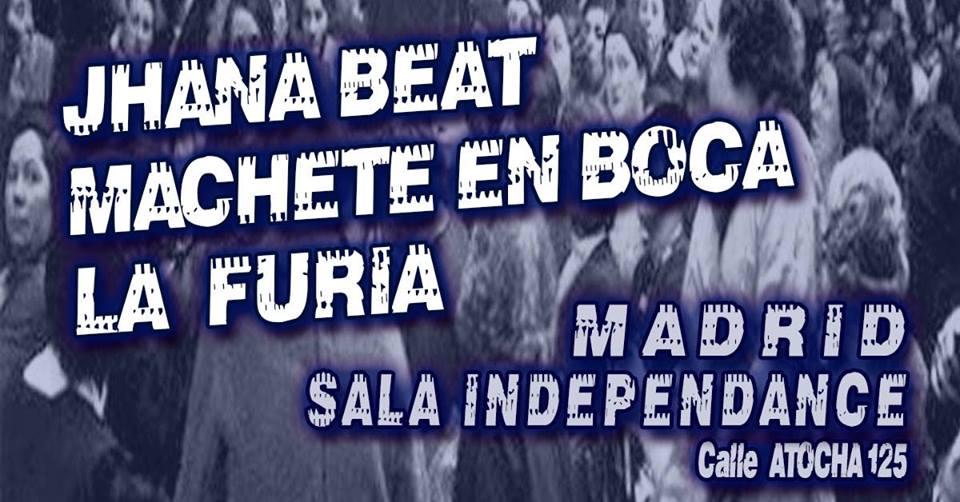 Machete en Boca - Madrid @ Independance Club | Madrid | Comunidad de Madrid | España