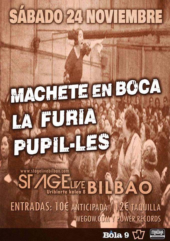 Machete en Boca - Bilbao @ Stage Live Conciertos | Bilbo | Euskadi | España