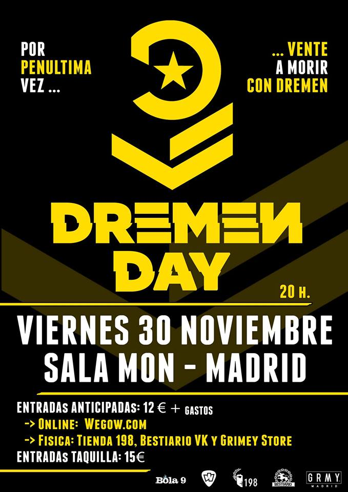Dremen Day @ Sala Mon | Madrid | Comunidad de Madrid | España