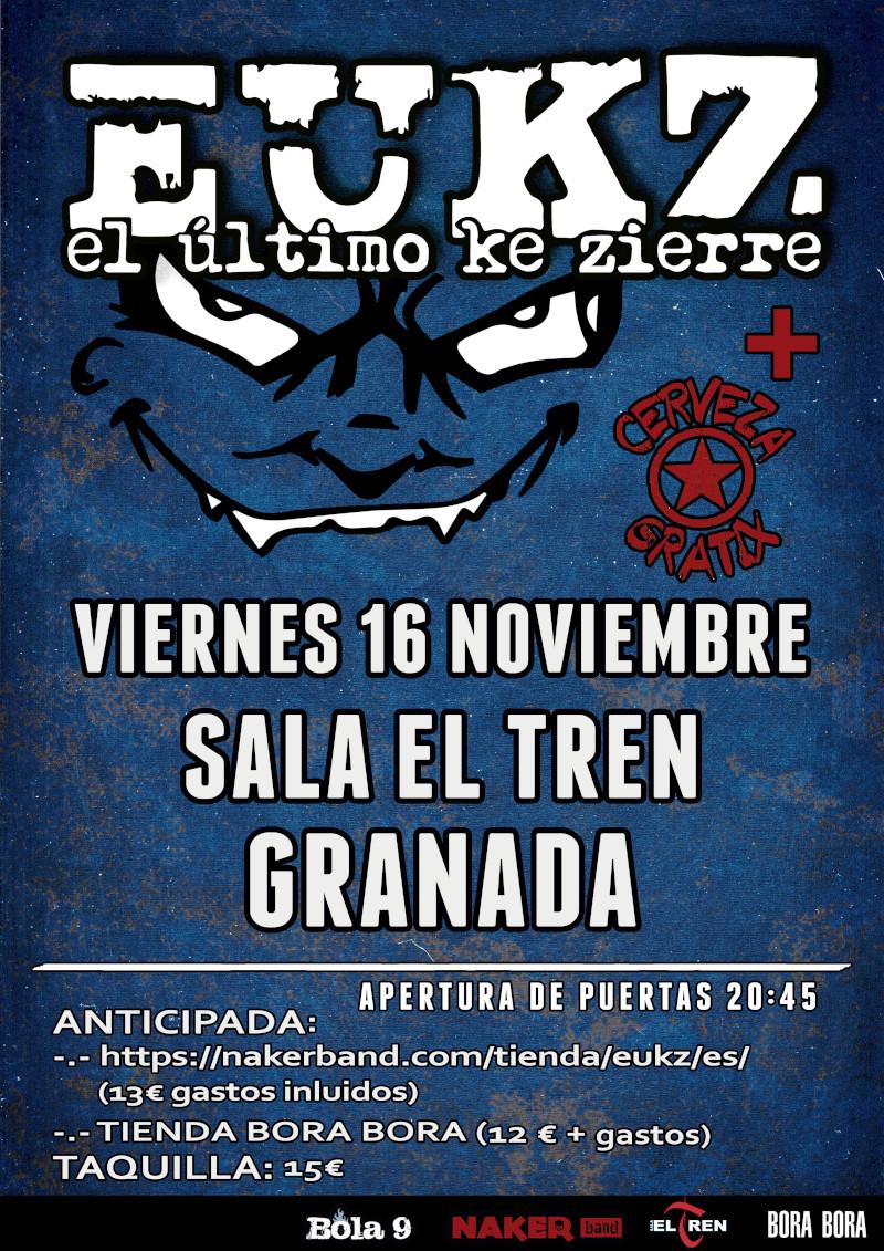 El Último ke Zierre - Granada @ Sala el Tren | Granada | Andalucía | España