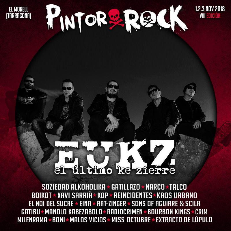 El Último ke Zierre - Pintor Rock @ El Morell | Cataluña | España